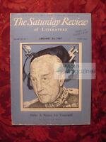 SATURDAY REVIEW January 25 1947 DMITRI SHOSTAKOVICH JOSEPH SZIGETI Samuel Hoare