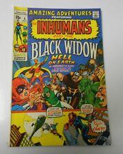 1971 Amazing Adventures #6 Vf- Neal Adams Inhumans Black Widow