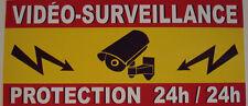 1 sticker adhesif  PROTECTION CAMERA VIDEO SURVEILLANCE videosurveillance