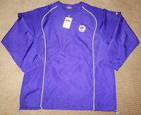 Nike FIt Dry Pullover Jacket Purple TIger Lion NWT Retail $58.99 S M
