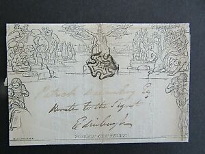 GREAT BRITAIN - 1840 1d MULREADY ENTIRE - USED - GOOD CONDITION
