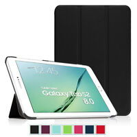 """Ultra Slim Smart Cover Case Stand for Samsung Galaxy Tab S2 8.0"""" T710 T715 T719N"""