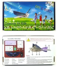 2 X Electric Toy, Simulation of Flying Bird with Flapping Wing  DIY Kids Gifts