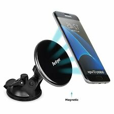 Qi Wireless Car Charger Magnetic  Mount Holder for Samsung S8/S7/Nexus 4/5/6/LG