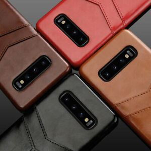 Leather Card Slot Wallet Slim Case Cover For Samsung Galaxy S10 5G S9 S10 Plus