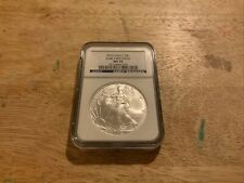 2010 American Silver Eagle Graded MS 70 By NGC - Early Release