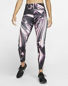 Women's Nike Leggings Epic Lux Flash Running Training Gym Size Medium
