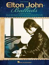 Elton John Ballads Sheet Music Easy Piano Book NEW 000307213