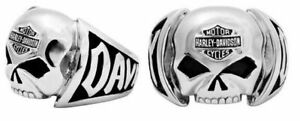 Men's Harley-Davidson Stainless Steel Willie G Skull Ring 177 / HSR004