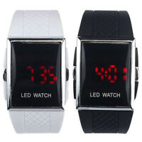 Fashion New Sports LED Watch Alarm Date Digital Women Men Watch Wrist Bracelet