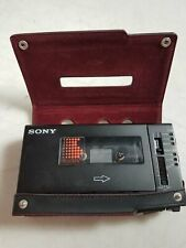 Sony Walkman Professional Cassette Recorder with Case
