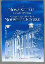 CANADA 2005 Folded Booklet - NOVA SCOTIA AGRIC. COLLEGE (8 @ 50c) Complete  MNH