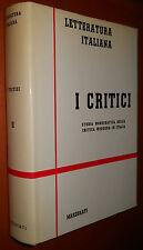 Orientamenti culturali - Letteratura Italiana - I CRITICI vol. II / Marzorati