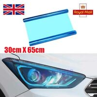 30 x 65cm Blue Headlight Protection Film Vinyl Fog Tail Lights Tinting Car Wrap
