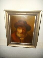 Very old  oil painting, {  Self portret? , is signed A. Rodin }. Is antique!
