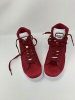 Nike Blazer Mid Premium High Top Red Crush Satin Women's Size 5.5