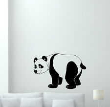 Panda Wall Decal Kids Vinyl Sticker Nursery Boy Girl Cute Baby Decor Art 118aaa