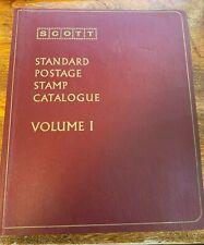 Scott Standard Postage Stamp Catalogue 1973 - All Three Volumes (1, 2, 3)
