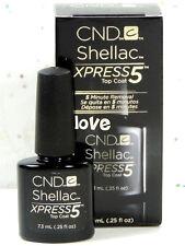 CND Gel Polish UV Nail Gel Base Top Coat /Brand New Gel Color #2- Choose Any