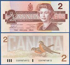 KANADA / CANADA 2 Dollars 1986  UNC  P. 94 b