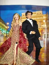 RARE Collectors Edition B0150 Boxed New Barbie James Bond 007 Collectibles.