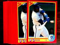 1990 Score BO JACKSON ~ 20 CARDS LOT ~ 1ST TWO SPORT SUPER STAR  VVV