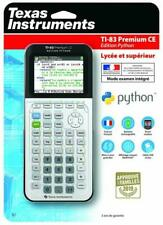 Texas Instrument TI-83 Premium CE: Édition Python Calculatrice Graphique