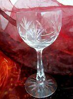 elegantes weinglas  bleikristall geschliffen true vintage 15 cm
