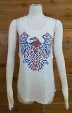 Vocal Tank Top! Aztec Eagle, Shear Print Back, Bling!! - #10673T - Sz Medium