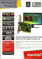 Kworld KW-PC134-a PCI Analog TV/Video Capture Card CCTV recorder