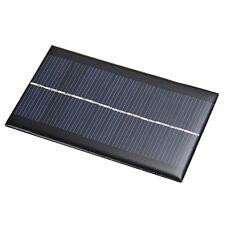 6V 1W Sonnenkollektor Solaranlage Solar Panel DIY für Licht Handy Toys Chargers