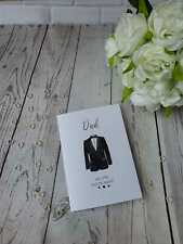 Dad Will you give me away card - Will you give me away? Wedding card