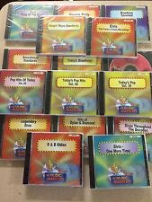 MUSIC MAESTRO CD+G SET LOT 16 DISCS 239 SONGS ELVIS R&B ROCK POP REGGAE BROADWAY