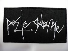 PESTE NOIRE EMBROIDERED PATCH
