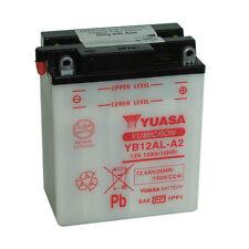 Batterie Yuasa moto YB12AL-A2 12v 12.6AH 150A 134X80X160mm ACIDE OFFERT
