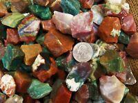 500 Carat Lots of Fancy Jasper Rough - Plus a FREE Faceted Gemstone