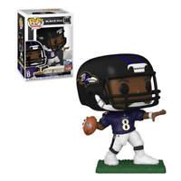 Funko Pop! Lamar Jackson Baltimore Ravens NFL Series Vinyl Figure in Protector