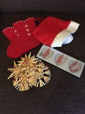 Ikea Weihnachtsdekoration Weihnachten Nikolaus Strohsterne Anhänger