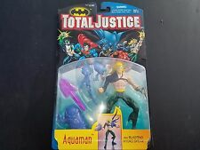 Total Justice Aquaman with Blasting Hydro Spear 1996 Kenner Moc