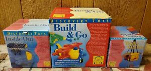 Discovery Toys - Inside Out, Build & Go, & Tricky Chickie Lot (New/Sealed)