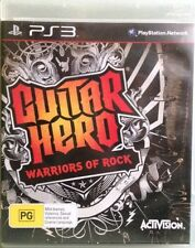 Guitar Hero Warriors of Rock for Sony Playstation 3