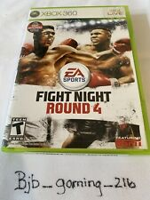 Fight Night Round 4 CIB (Microsoft Xbox 360, 2009)
