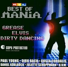 Mania-Best of: Grease, Elvis, Dirty Dancing (2004, RTL) Juliette Schoppma.. [CD]