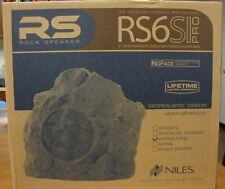 """RS6 PRO SHALE BROWN  6"""" HD Outdoor Rock Speaker New RS6 FG01689 (Each)"""