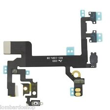 CAVO FLAT TASTO ON OFF PULSANTI LATERALI VOLUME MUTE ACCENSIONE PER IPHONE 5S