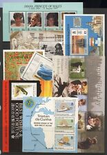 Tristan Da Cunha Collection 8 Mini Sheets / Sheetlets Unmounted Mint