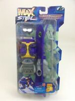"Arctic Commando Battle Gear Ski Max Steel Mattel 10"" Action Figure Accessories"