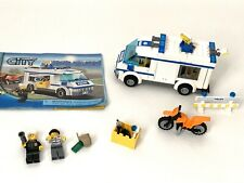 LEGO 7286 City Prisoner Transport 100% Complete with Minifigures and Manual