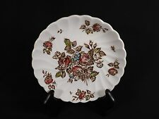 JOHNSON BROS DEVON SPRAYS REPLACEMENT SAUCER-FLORAL BROWN ROSES-5 AVAILABLE