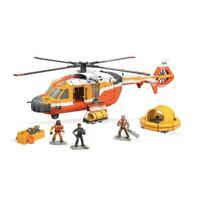 Mega Construx Probuilder Helicopter Rescue Coast Guard Bloks Playset Toy for Kid